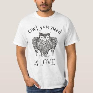T-shirt Hibou que vous avez besoin