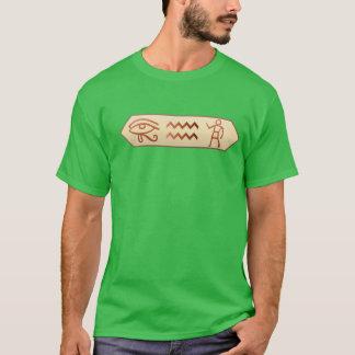 T-shirt Hiéroglyphique je vois U T