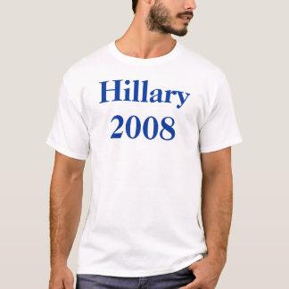 T-shirt Hillary 2008