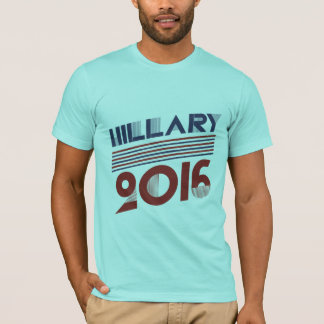 T-SHIRT HILLARY 2016 STYLES VINTAGES - .PNG