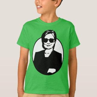 T-shirt Hillary Clinton est la pièce en t d'un enfant de