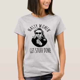 "T-shirt Hillary Clinton ""femmes méchantes obtiennent la"