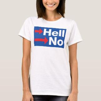 T-shirt Hillary Clinton tordue non - Anti-Hillary