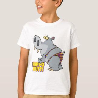 T-shirt hippopotame de bikini de bout d'hippopotame