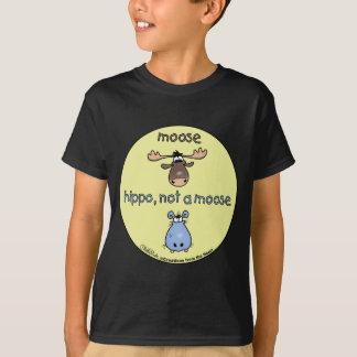 T-shirt Hippopotame-non-un-orignaux !