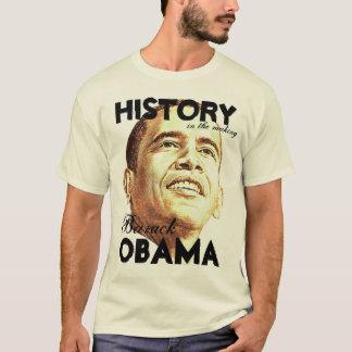 T-shirt Histoire dans la fabrication