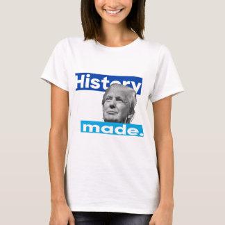T-shirt Histoire faite : L'atout remporte l'élection
