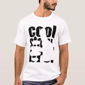 T-shirt Histoire fraîche Bro avec la silhouette de pouce