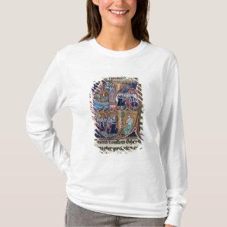 "T-shirt Historiated parafent ""C"" dépeignant Conrad III"