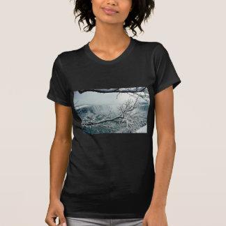 T-shirt Hiver de chutes du Niagara, Ontario, Canada