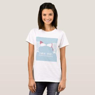 T-shirt Hiver esquimau de neige de baiser d'ours