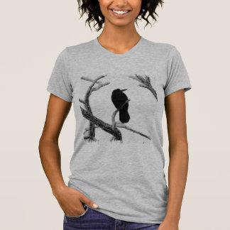 T-shirt Hiver Raven Edgar Allan Poe de B&W