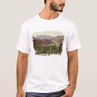 T-shirt Hjelle dans Valders, fjord de tuile, 1835