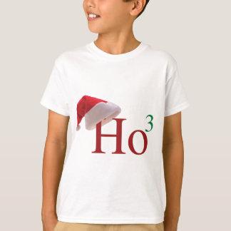 T-shirt Ho Ho Ho Noël 3 à la 3ème puissance conçoit