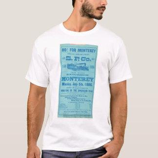 T-shirt Ho pour Monterey ainsi. Publicité Pacifique