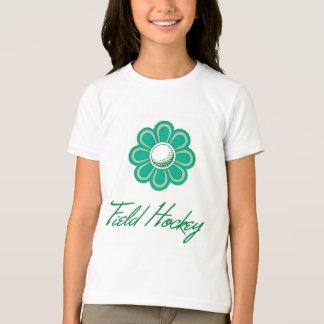 T-shirt Hockey de champ de Flowerboom