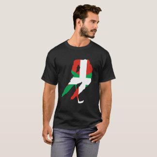 T-shirt Hockeyeur et basque