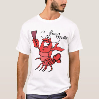 T-shirt Homard d'Appetit de fève