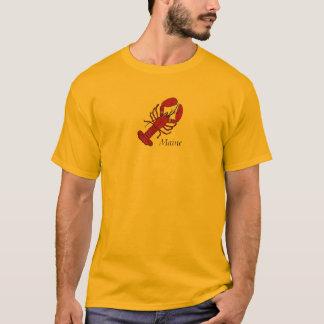 T-shirt Homard rouge du Maine