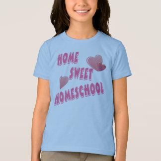 T-shirt Homeschool doux à la maison