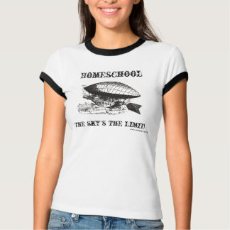 T-shirt Homeschool : La limite du ciel !