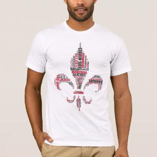 T-shirt Hommage français du Québec de Canadien