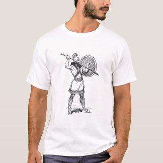 T-shirt Homme armé d'une lance assyrien