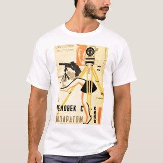 """T-shirt """"Homme avec le tee - shirt d'un appareil-photo de"""