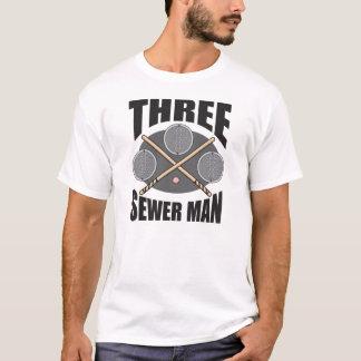 T-shirt Homme de 3 égouts !
