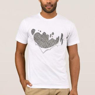 T-shirt homme de fer