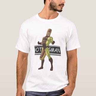 T-shirt homme de hot dog
