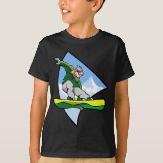 T-shirt Homme de snowboarding