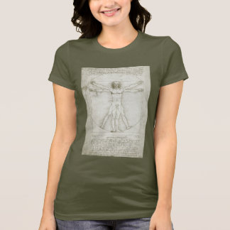 T-shirt Homme de Vitruvian par Leonardo da Vinci