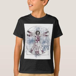 T-shirt HOMME d'U.V (homme universel de Vitruvian)