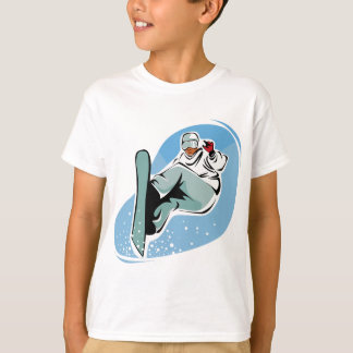 T-shirt Homme frais de snowboarding