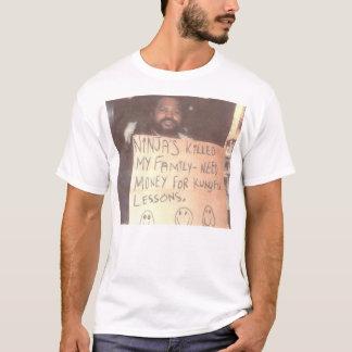 T-shirt Homme sans abri de Ninja