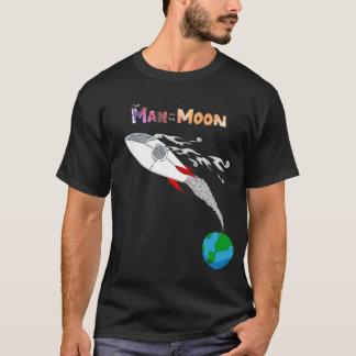 T-shirt Homme sur la lune