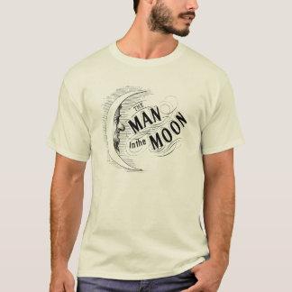 T-shirt Homme vintage dans la lune