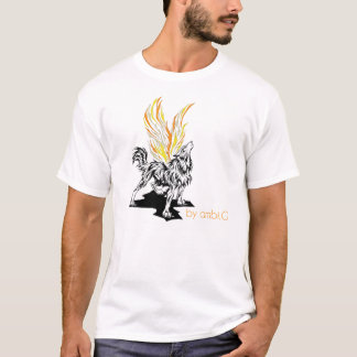 t-shirt homme wolf design by ambi.G