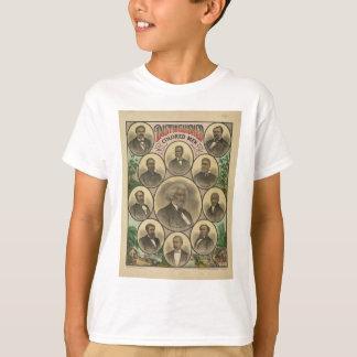 T-shirt Hommes colorés distingués Frederick Douglass