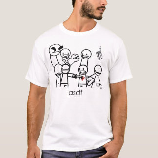 T-shirt hommes d'asdftee