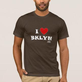 T-shirt Hommes de Brooklyn de coeur de la N.Y.E-I