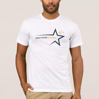 T-shirt Hommes finaux de chemise de grande rivière