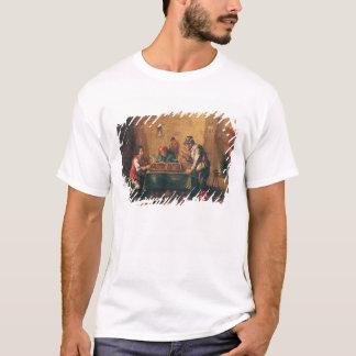 T-shirt Hommes jouant au backgammon dans une taverne