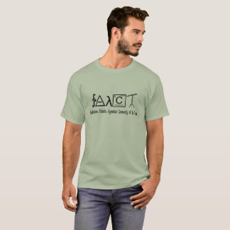 T-shirt Hommes (légers) athées de chemise de groupe de