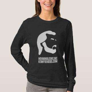 T-shirt Hommes qui ressemblent aux dames Longsleeve T de