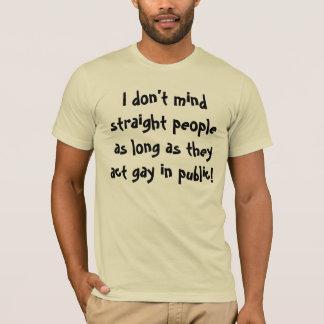 T-shirt Homosexuel d'acte