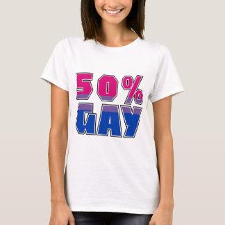 T-shirt Homosexuel de 50%