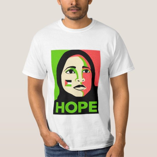 T-shirt hope palestine 2014