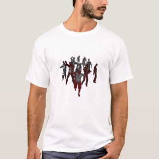 T-shirt Horde de zombi